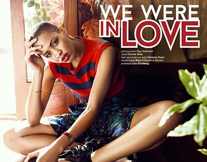 We Were In Love. Jute Magazine