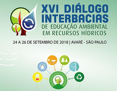 """Artes para evento """"XVI Diálogo Interbacias - DAEE"""""""