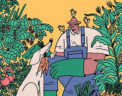 Allotment Gardener - Mummu London