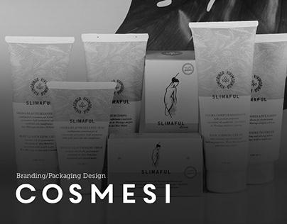 Linea cosmesi naturale   Branding / Packaging Desgin