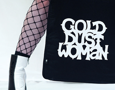 Gold Dust Woman // Typography