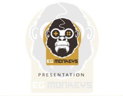 EG Monkeys | Logo designd & branding