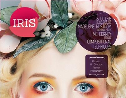 Iris Magazine Template