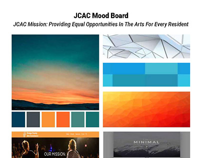 JCAC Website: Mood Board, Creative Brief, & Web Forms