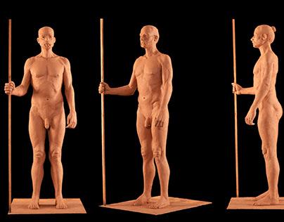 Figure Modeling of William Standing