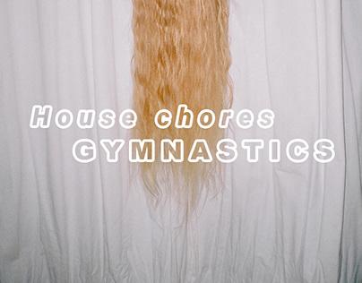 House chores gymnastics