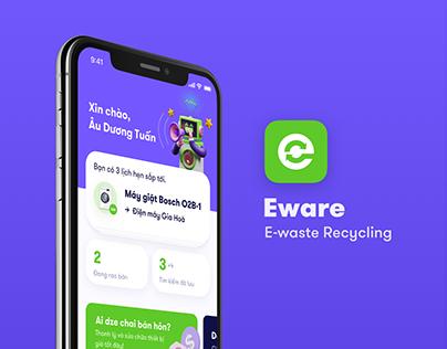 Eware - E-waste Reduce/Reuse/Recycle App