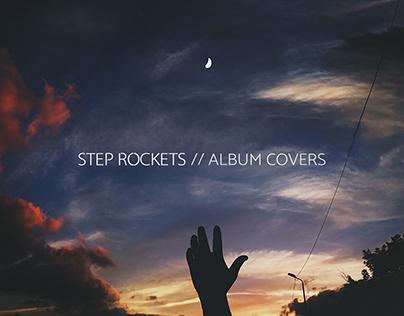"""Step Rockets"" Album Covers"