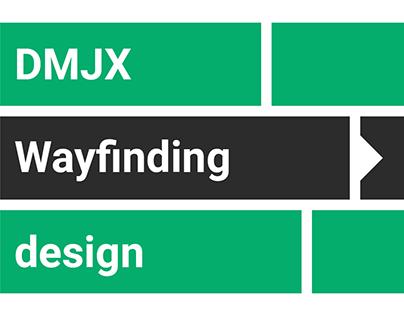 DMJX Wayfinding Design