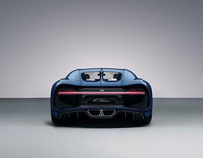 Bugatti Chiron Studio Shoot for Digital Campaign