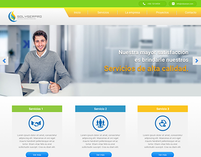 Home page Solyserpro