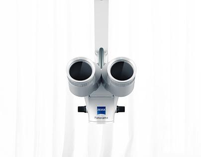 Carl Zeiss Microscope rocker Design