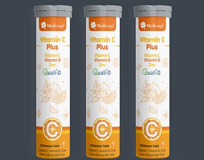 Medicago Vitamin C Plus Efervesan Ambalaj