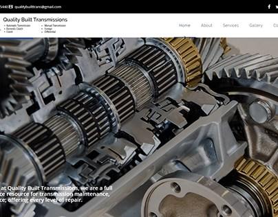 Sitio Web: Quality Built Transmission