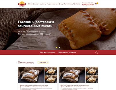 food delivery web design