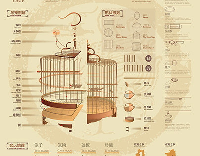 鸟笼Analysis of traditional Chinese bird cage