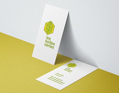 Logotype - Les Boîtes Vertes