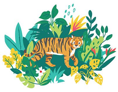 Sumatran Jungle Pattern Collection