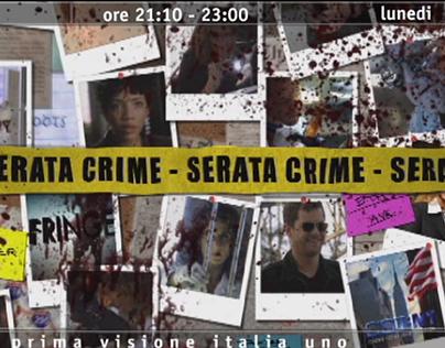 "Promo ""Crime Night"" - Italia 1 - MEDIASET"