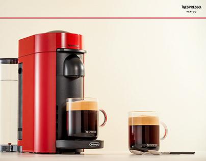 Nespresso Vertuo - photoshoot