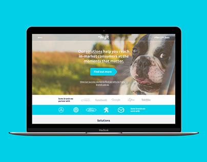Regit - Trade Website Design (UX/UI)
