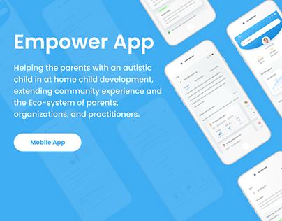 UX UI autism app