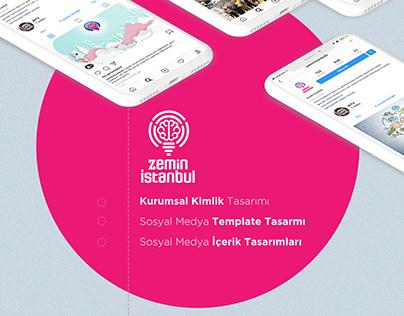 Zeminİstanbul/Kurumsal Kimlik Sosyal Medya Tasarımları