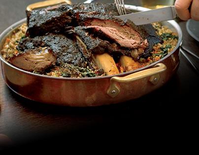 Dark Kosher Meat with Allaham