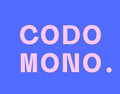 Codo Mono - A Modern Monospace typeface