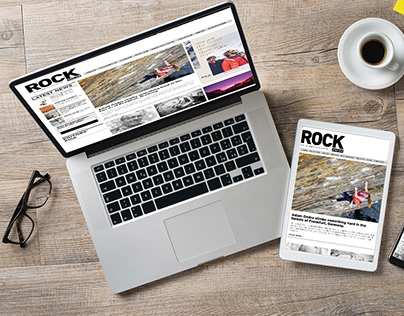Rock and Ice Website