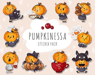 PUMPKINESSA Sticker pack