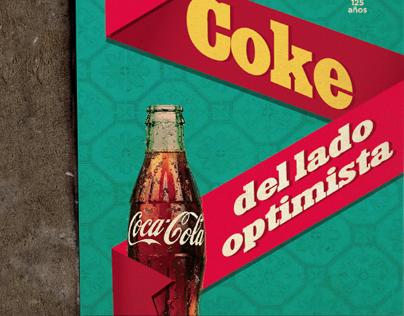 Coke posters 125 years