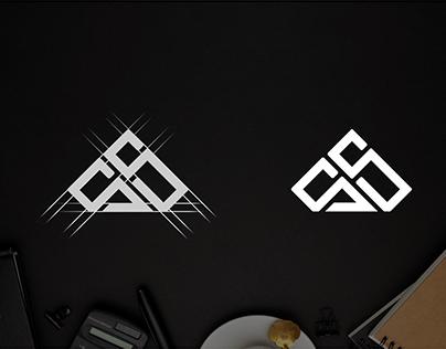 Letter S S monogram logo design