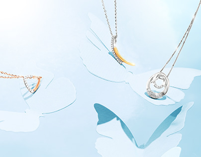 Jewelry with butterflies