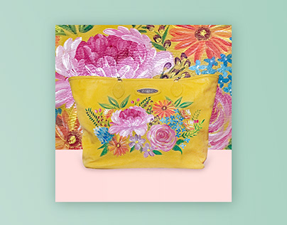 Cara Lily Hand-painted Bags