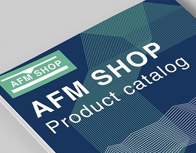 AFM Gift Shop Branding