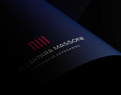 Alcântara Massoni - Identidade Visual