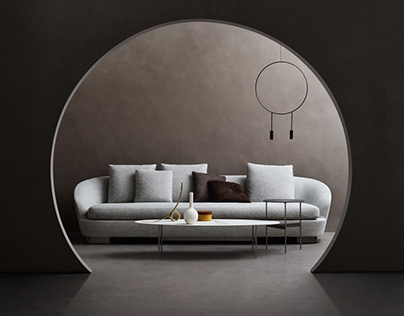 "Elle Decor ""Circle Lines"""