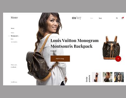 Desktop Fashion Store