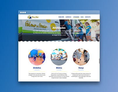 Palmo e Meio Website