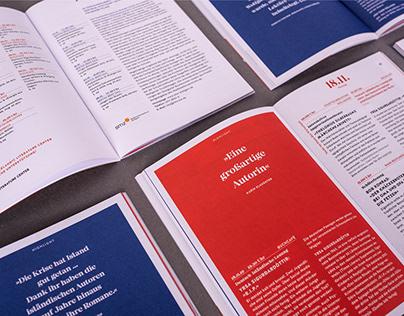 Stuttgarter Buchwochen 2019 | Branding, Web, Print