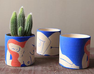 Various Ceramic Planters