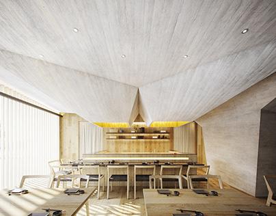 Oku Restaurant Interiors