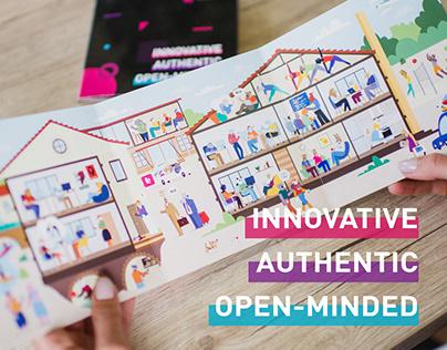 BROCoders brochure — Innovative. Authentic. Open-Minded