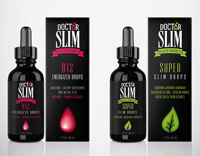 DR SLIM (slimming supplements rebranding)