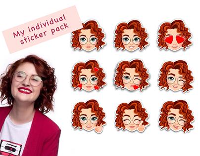 Pauline sticker pack