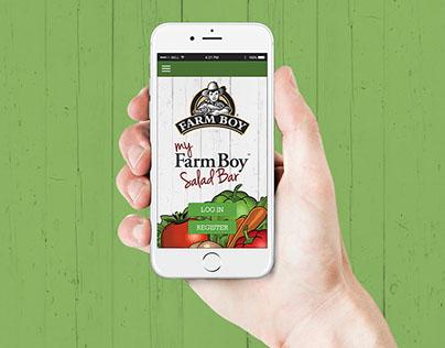 My Farm Boy Salad Bar App