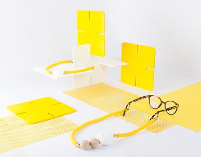 Länk - Contemporary eyeglass cord