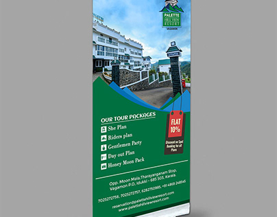 Pull Up Banner :: Palette Hill View Resort