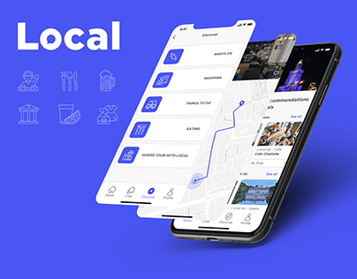Local - Mobile App Ironhack UX/UI